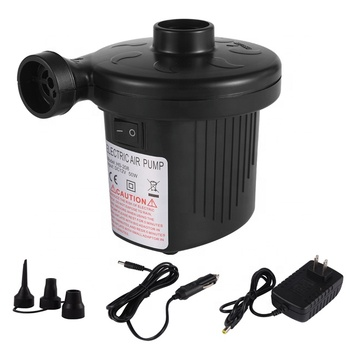 hot sale 2-way electric air pump home and car use both CE/GS adapter,ABS material