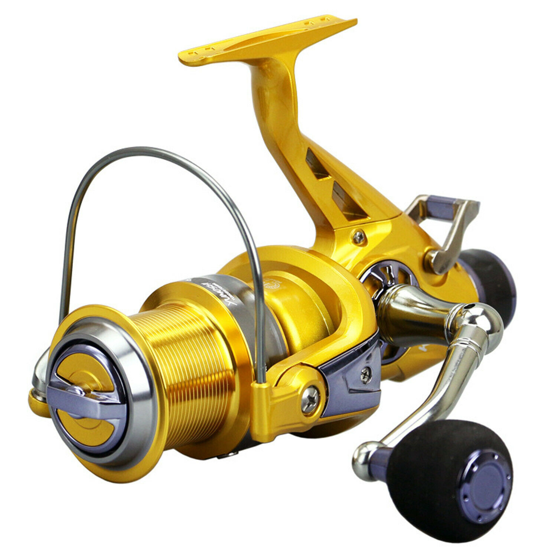 Spinning Fishing Reel Guide Rod Front Rear Brake Lightweight Large Line Capacity