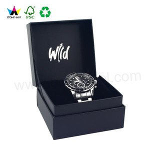 Custom Fancy And Elegant Watch Gift Box With Brand Name