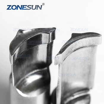 ZONESUN Dolphin Logo Custom Candy Milk Tablet Slice Die Stamp Precision Punch Die Mold Sugar Tablet Press Tool Tdp 0/1.5/3