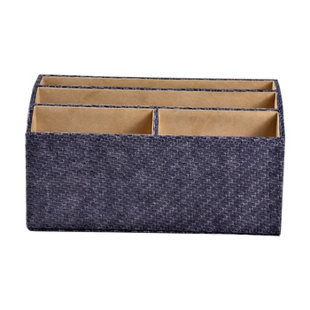 Factory Wholesale Classical Leather Desk Organizer
