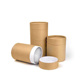 factory direct sale biodegradable kraft paper cylinder box