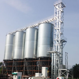 Top quality Hot Galvanized Grain Storage Steel Silo in China(whatsapp:008615961276162)