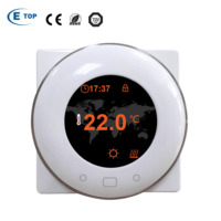 Programmable White Alexa Digital Smart Wifi Room Thermostat
