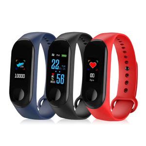 New Arrival Original Sport Bracelet Android Smart Watch Band M3 IP67 Waterproof Fitness Smart Bracelet