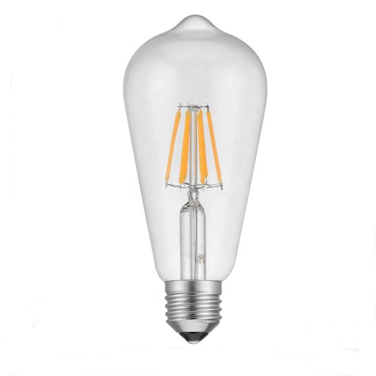 Vintage LED Edison Bulb E27 4W 6W 8W LED Filament Light Retro Lamps 110V 220V