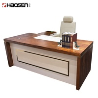 Modern style MDF 09007 Wood executive Computer desk Work office furniture executive desk use