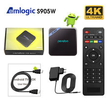Pendoo x8 MINI Android 7,1 <span class=keywords><strong>TV</strong></span> Box Amlogic S905W 4K 1G/2G RAM 8G/ 16G ROM KD player 18,0 caja de <span class=keywords><strong>Tv</strong></span> inteligente X96 rk3399