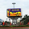 waterproof IP68 high bright high resolution full color video advertising Nationstar SMD P5 P6 led outdoor display