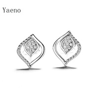 High Quality Wholesale 925 Sterling Silver Micro Pave CZ Earrings