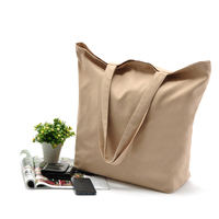 Wholesale Customization Plain Cotton Canvas Tote Shopping Bags With Logo Printing