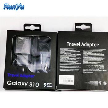 For Samsung S10 original fast charger QC3.0 charger with usb cable and package