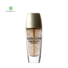 OEM DOM Caviar Anti Aging Repareren Gezicht Serum Private Label Gold Fish Roe Moirsturizing Voedende Facial <span class=keywords><strong>Essentie</strong></span>