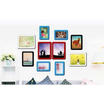 Crystal Epoxy Magnetic  Photo Picture Frames  8 X 10""