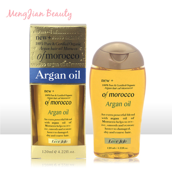 Private label natural organic repair hair damage care Morocco argan oil 120ml