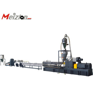 Meizlon ABS alloy extruder machine pvc compounding extruder non woven fabric making machine