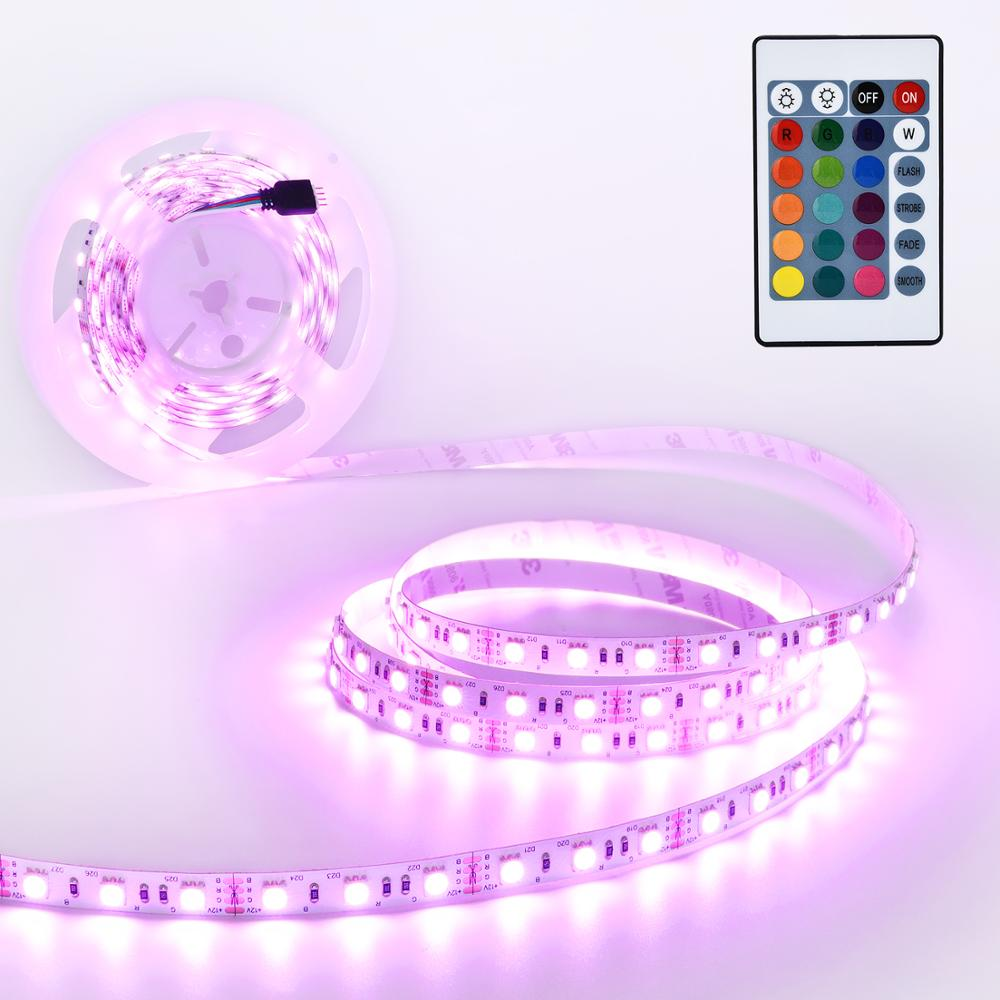 Ultra Violet LED Strip 385nm 14.4W 12V DC