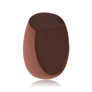 Latest Two side cut Cosmetics Finishing beauty makeup sponge