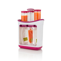 Hot Original Baby Food processor food maker Feeding Supplement to Containers 10 Pouches Squeeze Storage Bag