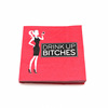 red wine cool girl paper napkin for bar