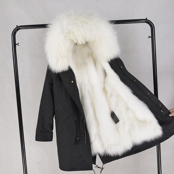 Parka Jacket With Fur Inside