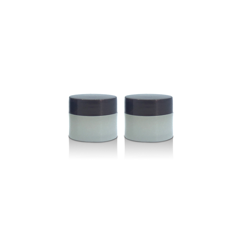manufacturing plant custom 5g mini cream jar with lid facial care plastic packaging cosmetic containers for eye cream