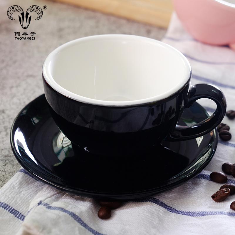 80cc 300cc Logo Decal Artwork Design Personalized Coffee <strong>Tea</strong> Cups Saucers <strong>Sets</strong> Stoneware Ceramic <strong>Porcelain</strong>