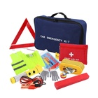 Wholesale Auto Car Emergency Kit and First Aid Kit with Jumper Cables for Car Truck