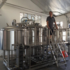 800L large commercial craft beer brewery equipment for sale