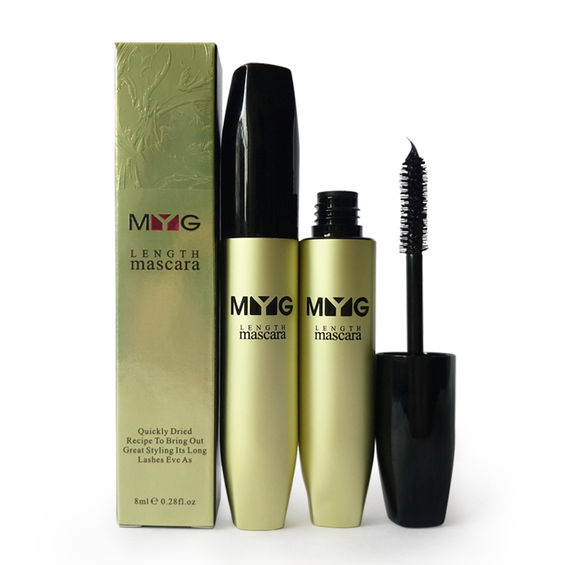 MYG Unrivalled elongating, curling and intersifying effect mascara, Black