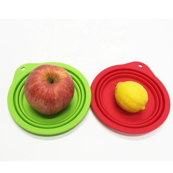 Good quality portable collapsible slow feeder dog bowl
