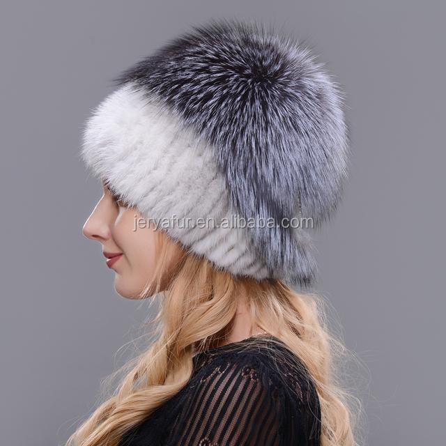 оптовая продажа шапки из норки женские купить лучшие шапки из норки