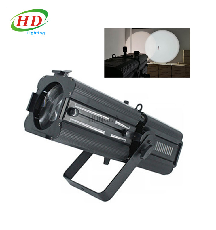 200W Zoom Gobo DMX 512 Controller Aluminum Led Profile Spot Light Operation Theatre Exhibition Spot Lights