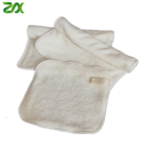 Reusable Makeup Remover Bamboo Velour Cloth Washable Chemical Free Bamboo Terry Cleansing Towel Wipes Face Clean pads
