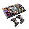 TECTINTER Decal Skin Vinyl For PS3 Game Console GTA Sticker