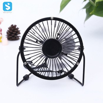 360 Degree Rotation Perfect Portable Personal Mini Metal Cooling USB desk fan