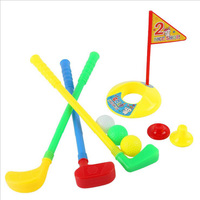 W281 Mini Plastic Toy Golfball Brassie Set Toys For Educational Promotional Child Toys