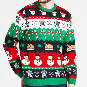 Factory Wholesale Christmas Jumper OEM Nice Sweater For Men