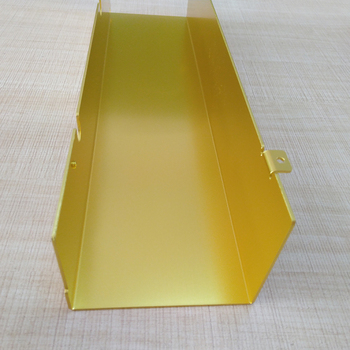 Wholesales customized anodized surface sheet metal work