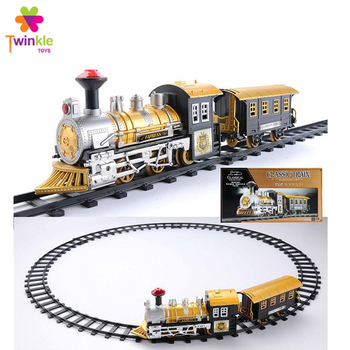 B/O classic toy train with music light electric toy train sets