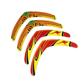 Factory Wholesale EVA Colorful V Shape  Outdoor Toys Boomerang Flying Disc