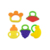 New OEM BPA Free  Animal Fruit Free Design Custom Silicone Baby Chewable Teether Toy For Toddler