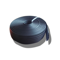 Rubber Light Duty cable protector floor rubber road hump 1 channel event cable ramp protector cable cover