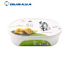 Good quality Tamper Evident PP plastic dairy food container with lid cookie biscuit box in mould labeling IML container