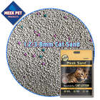 meek pet bentonite cat litter for cat low dust odour control 100%natural
