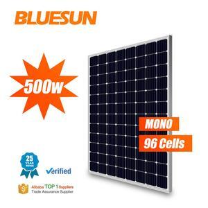 Tier 1 A grade Sun Power panasuns solar panel mono 500w Solar Panel price