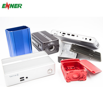 China Factory OEM Custom Extruded Aluminum Case Enclosure Box for Electronics