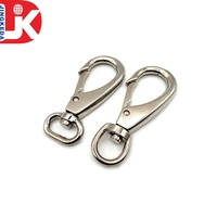 Hot selling 25mm silver nickle metal alloy swivel clasps snap DIY keychain buckle clip
