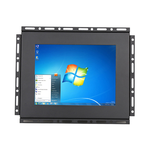 mini car using 8 inch touch screen monitor lcd tft wall mounted industrial monitor