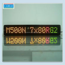 Indoor LED <span class=keywords><strong>Bus</strong></span> Bestemming Board Led Teken <span class=keywords><strong>Voor</strong></span> Verkoop/P7.62 <span class=keywords><strong>Bus</strong></span> Stop Led Display Board